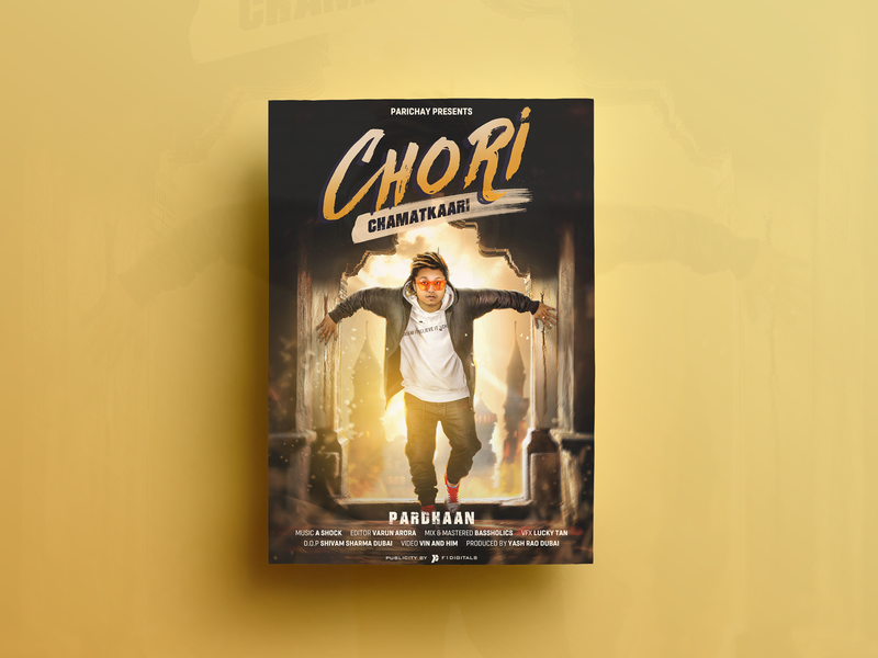 Chori Poster Design designing song poster closet digital painting poster design poster graphics editing composting