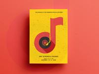 Amy Schumer & Friends Poster Design