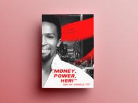 Money Power Her Poster Design