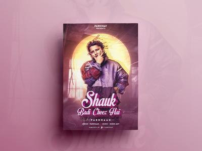 Shauk Poster Design