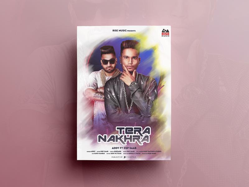 Tera Nakhra Poster Design