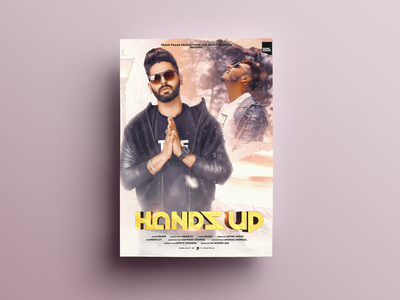 Hands Up Poster Design