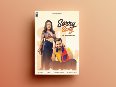 Sorry Song Poster Design