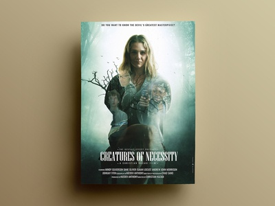 Creatures Of Necessity Poster Design