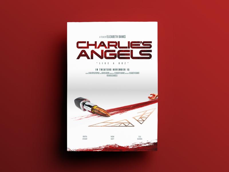 Charlie's Angels Poster Design