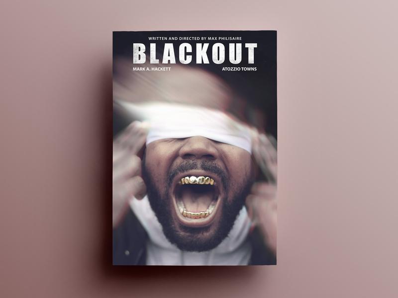 Blackout Poster Design