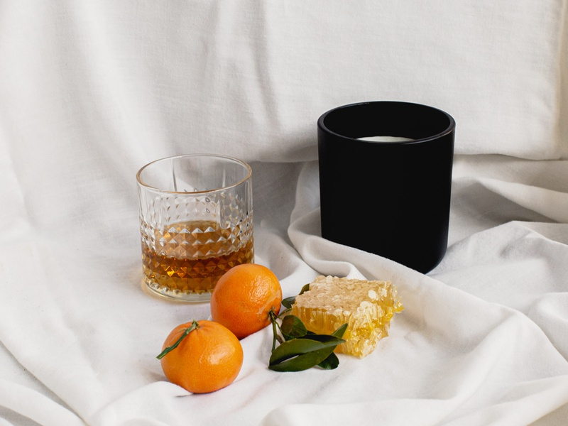 Styled Product Shot for Ember and Beam branding design branding brand identity brand identity design candle brand candle product photography creative direction creative director brand direction photography creative agency branding agency product styling product photography