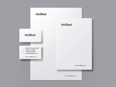 Personal Branding unifikat studio logo identity design branding