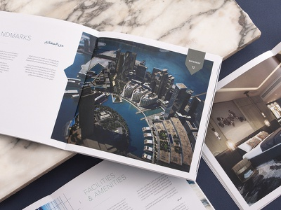 Real Estate Project - Brochure cgi real estate typography luxury brand apartment album brochure design brochure apartments luxury editorial design unifikat identity branding design