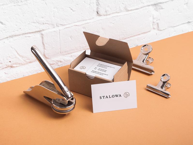 Stalowa 27 Apartments studio identity brand materials luxury apartment typography design logo branding unifikat real estate