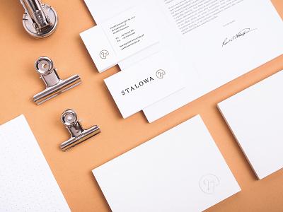 Stalowa 27 Apartments apartments brand materials apartment studio branding typography luxury real estate unifikat logo identity design