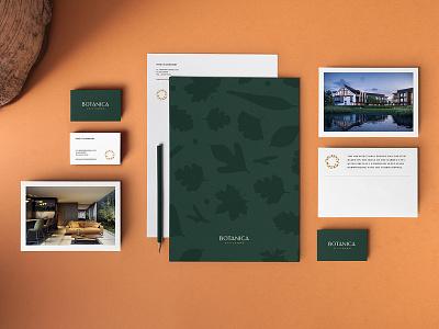 Botanica - Branding logo editorial luxury identity designer brand materials brochure typography apartments editorial design apartment real estate studio identity unifikat branding design