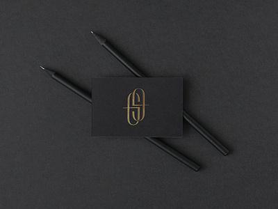 GG Project vector typography luxury studio logo identity branding unifikat design