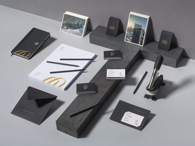 GG Project luxury logo studio branding typography editorial design identity unifikat design