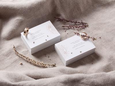 La Luce - Wedding Photography brand materials typography luxury logo identity studio branding unifikat design
