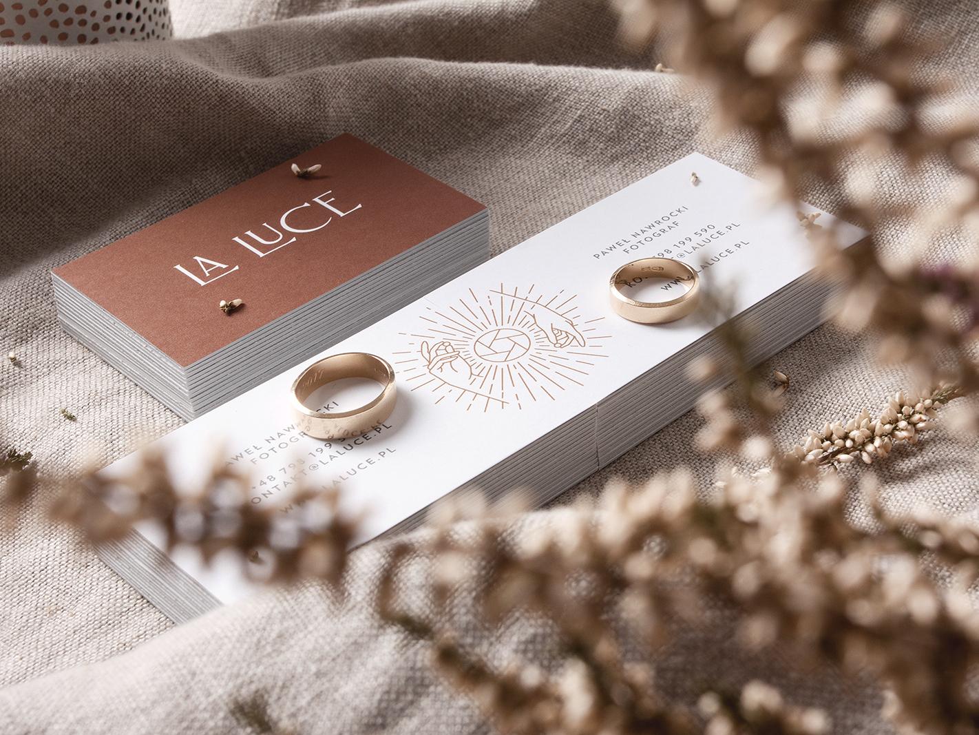 LaLuce - Wedding Photography brand materials typography luxury logo identity studio branding unifikat design