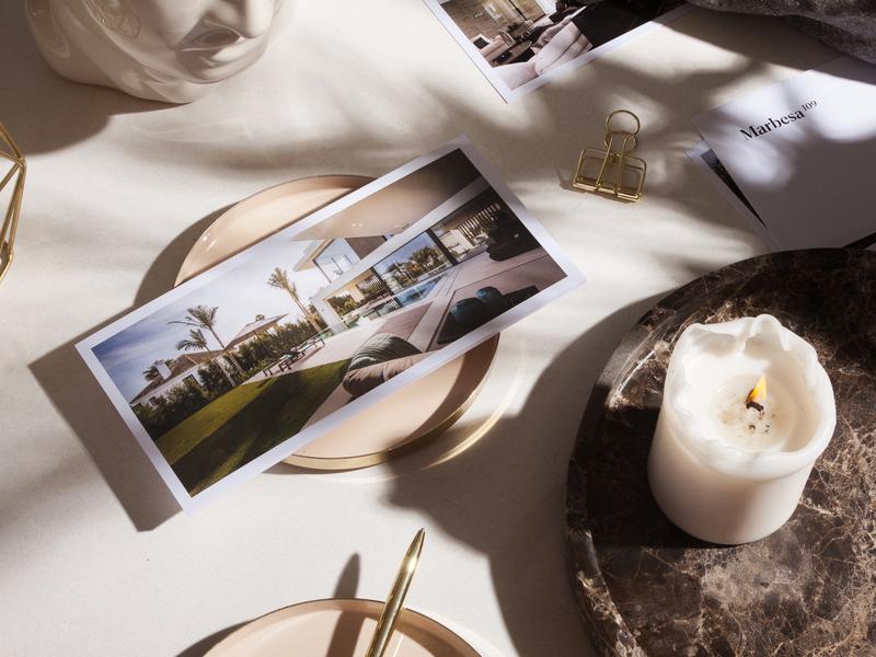 Marbesa 109 editorial design typography identity brand materials real estate luxury studio branding unifikat design