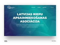 Website redesign of the LATVIAN TIRE MANAGEMENT ASSOCIATION