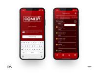 "Design app for ""Comedy day"""