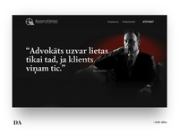 "Responsive design for the ""Rusanovs & Partneri"""