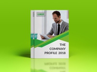 Company Profile 2 Green Color