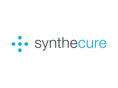 Synthecure Logo identity branding brand medical design logo minimalism minimal simple