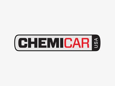 Chemicar Logo simple car design logo
