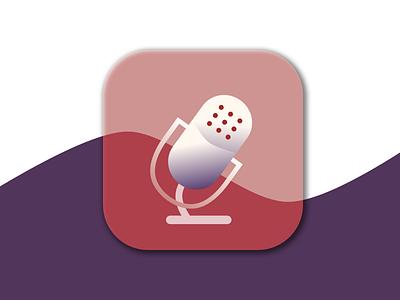 Podcast Icon podcast appicon dailyui005