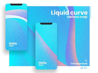 Liquid Curve Background