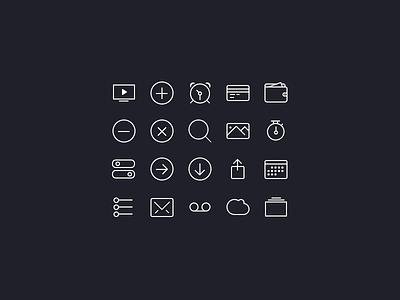 iCons iOS7 [Freebies] ios7 icon free psd flat iphone ios