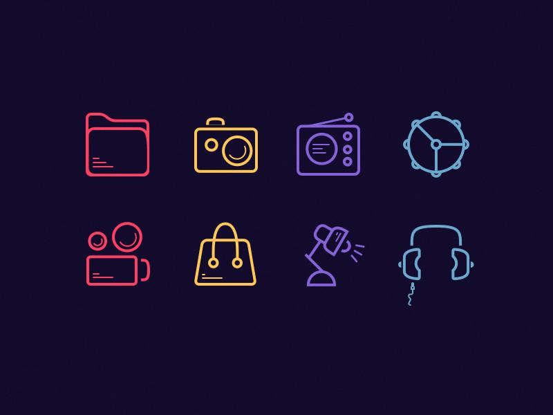 30 line icon [Freebies] ios iphone ipad ux ui interface icon free sketch