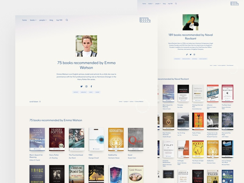 Good Books — profile pages 📚 beige bookshop book database bookstore books minimalist clean figma landing page webflow brand identity clean ui web design simple minimalism minimal