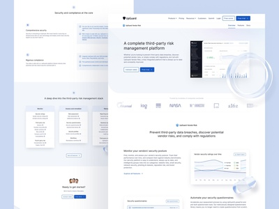 Product overview pages — UpGuard minimalist features saas landing page saas website saas design enterprise software enterprise app software saas 3d clean webflow brand identity web design clean ui simple minimalism minimal landing page product overview