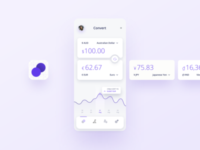 Daily UI 004 – Currency converter app