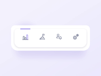 Daily UI 007 – Settings tab bar micro interaction