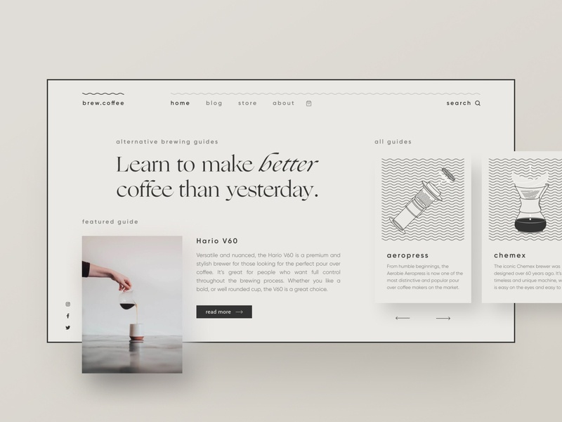 Brand experiments — part 18 layout blog design blog beige typeface ogg css grid clean type typography landing page webflow figma simple minimal minimalism illustration brand identity web design clean ui