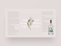 Gin distillery website exploration — part 03