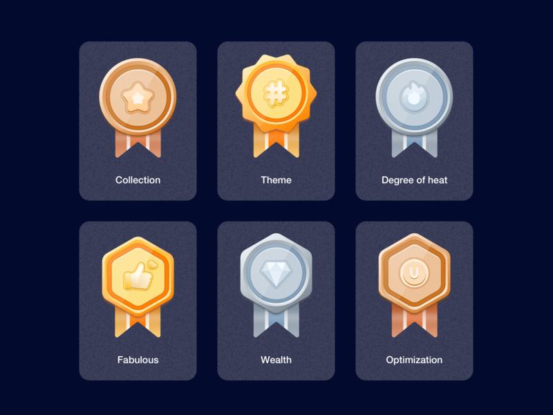 Mission Center, medal Icon ux app ps sketch illustration home task medal logo ui icon