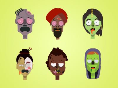 Zombie Avatars
