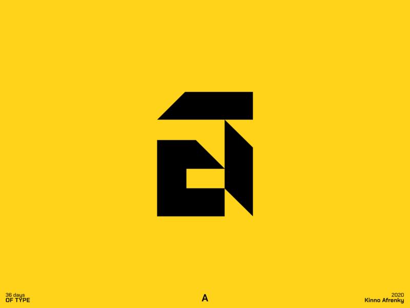 36 Days of Type : A brand identity branding 36daysoftype dailylogochallenge logodesign design logo a logo a