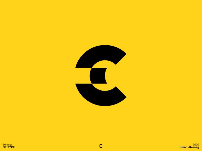 36 Days of Type : C c logo c logodesign design dailylogochallenge branding brand identity logo 36daysoftype