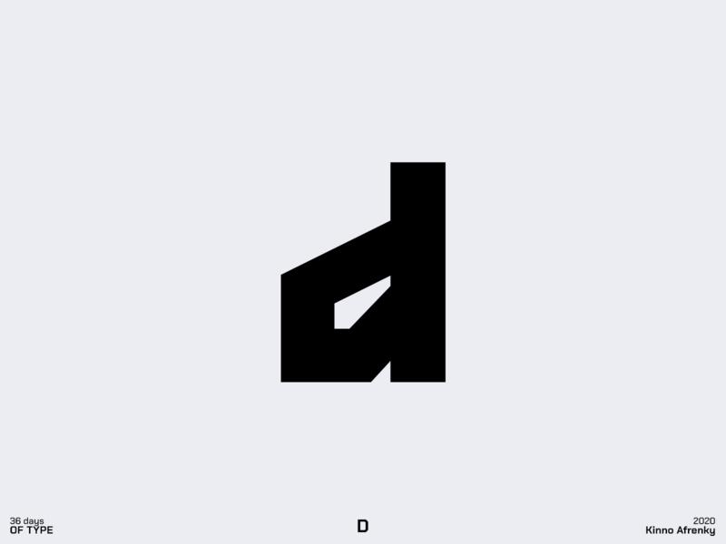 36 Days of Type : D logodesign design dailylogochallenge branding brand identity logo d logo d 36daysoftype