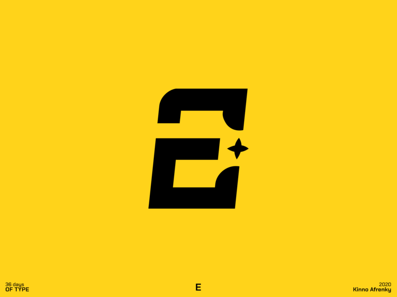 36 Days of Type : E logodesign design dailylogochallenge branding brand identity logo e logo e 36daysoftype