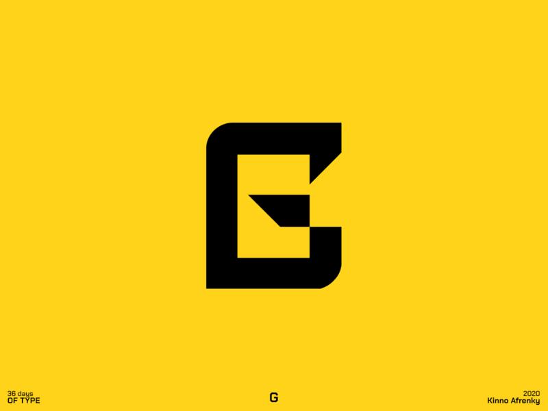 36 Days of Type : G logodesign design dailylogochallenge branding brand identity logo g logo g 36daysoftype