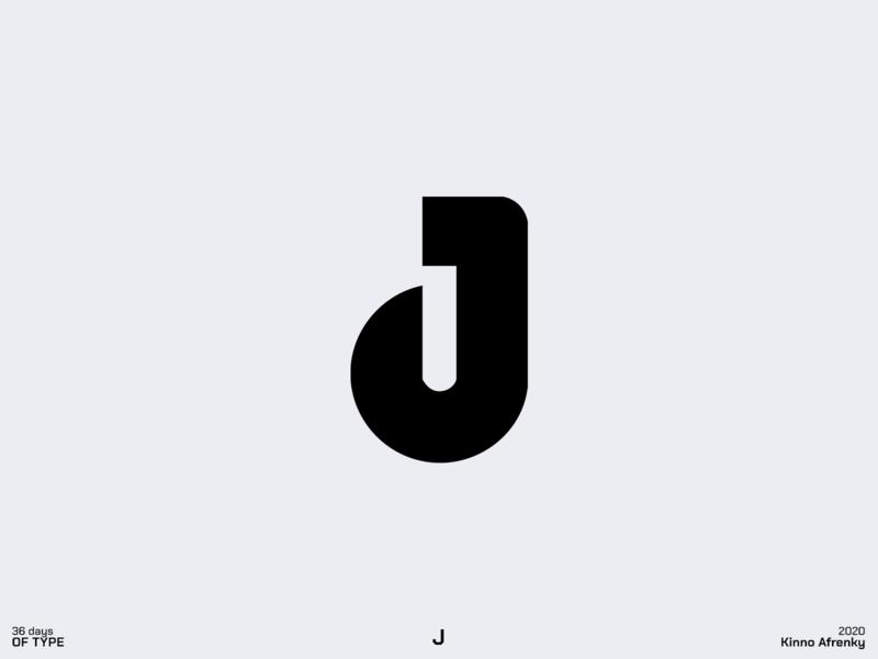 36 Days of Type : J logodesign design dailylogochallenge branding brand identity logo j logo j 36daysoftype