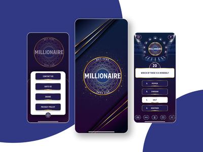 UI Design for Millionaire Game