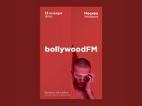 bollywoodFM promotional poster