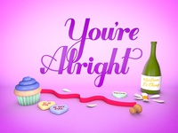 You're Alright - 3D