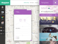 Mapjam webapp full 2