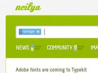 neilya 02 - web app UI